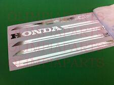 HONDA CN 250 SPAZIO  ADESIVI CROMO CHROME STICKERS