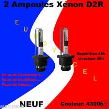2 Ampoules Blanc Xenon D2R 35W 4300k Renault Avantime Clio Espace Laguna NEUF