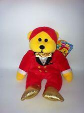 Beanie Kids VIP Beanie Master Teddy Bear Soft Plush Toy/Doll