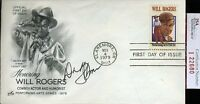 Dinah Shore 1979 Signed Jsa Certed Fdc Authentic Autograph