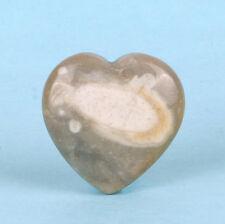 CIRCLE STONE™ POLISHED GEMSTONE HEART (25MM) ENGLAND