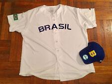 Brasil Brazil World Baseball Classic Jersey Majestic 2XL Brazilian National Team