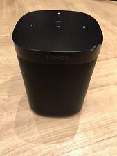 SONOS ONE 1 Black Smart Wireless Stereo Speaker ALEXA Google Assistant