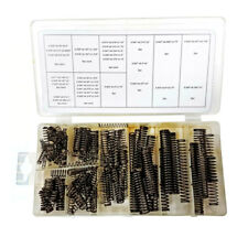 114 Piece Spring Assortment Compression Springs with black finish
