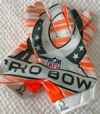 2014 NFL PRO BOWL NIKE VAPOR JET CUSTOM PLAYER GLOVES - XL