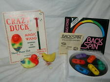 vintage Rocking Crazy Duck egg laying Chicken Back Spin puzzle toy game