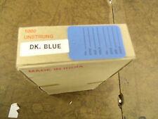 "Bulk-Lot-box of  1,000 unstrung price tags .-hang tags-dk. blue-1 1/4""X1 7/8"""