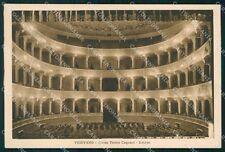 Pavia Vigevano Teatro Cagnoni FG cartolina KF2123