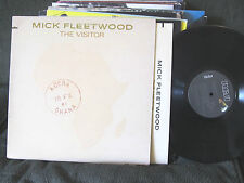 MICK FLEETWOOD MAC THE VISITOR 1981 ORIG VINYL SOLO LP W/GEORGE HARRISON !!