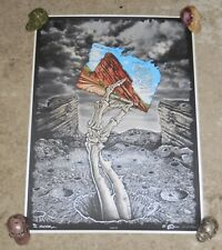Emek Signed and Doodled Queens Of The Stone Age Red Rocks Poster 89/111