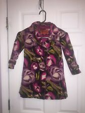 Missoni for Target Floral Trench Coat;  Girls XL 4T-5T Ltd Edition Spring