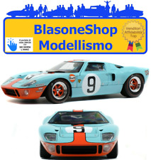 Ford GT 40 Gulf Le Mans #9 Winner 1:18 Diecast Solido racing