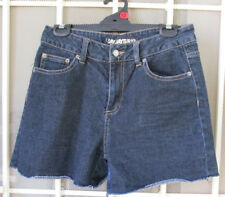 Denim SHORTS dark blue JayJays Sz12 womens cotton ladies summer