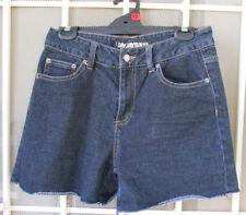 Denim SHORTS dark blue JayJays Sz12 womens cotton ladies summer