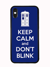 Tardis Keep Calm And Don't Blink For Iphone XS MAX 6.5 2018 Case
