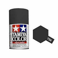 Tamiya 85006 TS-6 Matte Black Spray Lacquer Paint Aerosol 100ml