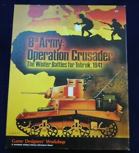 GDW 8th Army: Operation Crusader VG Punched