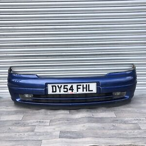 ⭐️ VAUXHALL ASTRA G MK4 *1998-2004* FRONT BUMPER COMPLETE IN Z20Q BLUE (FreeP&P)