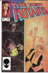 NEW MUTANTS (1983 series) #23 Back Issue Near Mint (9.20)