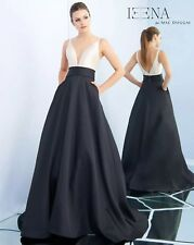 IEENA for Mac Duggal Plunging Sweethear Neck Ballgown, Size 12