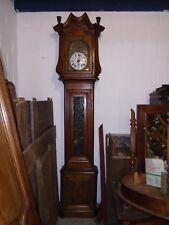 Horloge de parquet, horloge ancienne, horloge comtoise, horloge en chêne