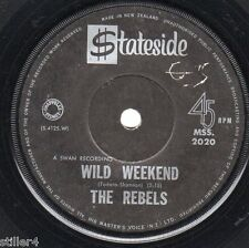 The Rebels Wild Weekend * New Zealand originale 60s BEAT Single *