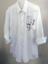RAY JOHNSON 1990s, original Mixed Media/object: shirt & feather