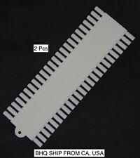 Nail Art 48 False Nails Palette Plastic Tips Display And Practice Board (2Pcs)