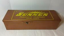 Vintage Sunnen Metal Carrying Case Box for An-110, Standard Cylinder Grinder