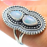 Ethiopian Opal 925 Sterling Silver Ring Size 7.5 Ana Co Jewelry R29736F