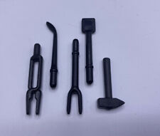 playmobil lot outils forgeron H512.1 western black smith 3430 3442