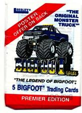 "Bigfoot"" Monster Truck Trading Card Pack"