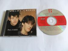 CHINA CRISIS – Diary - A Collection (CD 1992) UK Pressing
