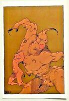 Carte Postale T.L. 1.000 ex. Les NAGEURS de SABLE / CAZA - CP 2007 TTBE