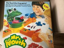 Mr. Mouth Game 1987 Vintage Milton Bradley Feed The Frog