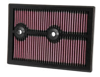 33-3004 K&N Replacement Air Filter AUDI A3 L4-1.4L; 2012-2013 (KN Panel Replacem