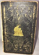 Antique 1849 Scripture Manual Charles Simmons Collectable Christianity