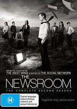 The Newsroom : Season 2 (DVD, 2014, 3-Disc Set)  REG 4..NEW & SEALED