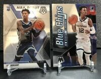 Lot (2) 2019-20 Mosaic Ja Morant Rookie RC Inserts - Blue Chips - Grizzlies 🔥