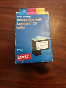 Staples Ink Cartridge compatible for Lexmark 26 color 17ml