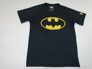 Under Armour Men's Batman Loose Heatgear Athletic Shirt Small Short Sleeves S