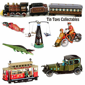 Tin Toys Wind-up Vintage Mechanical Collectible Kid Adult Men Women Novelty Gift