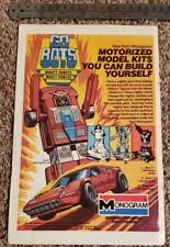 GoBots Toy RARE Toy Advertisement