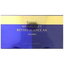 Shiseido Revital wrinkle lift retinoscope science AA Eye Mask 2sheets x12 F/S