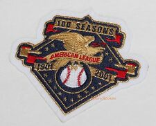 AMERICAN LEAGUE 100 SEASONS MLB PATCH