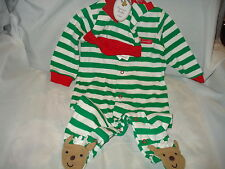 CARTER'S PRECIOUS FIRST 2-PIECE SLEEPER & HAT SET REINDEER CUTE NWTS SUPER SALE