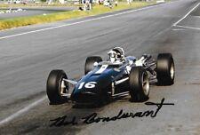 Bob Bondurant firmado, Eagle-T1G-Weslake, mexicano Grand Prix 1966