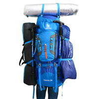 80L Climbing Backpack Nylon Outdoor Sport Camping Hiking Large Capacity Bag