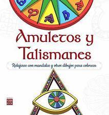 Arte Terapia: Amuletos y Talismanes : Relajarse con Mandalas para Colorear by...