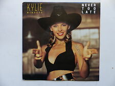 45 Tours KYLIE MINOGUE Never too late , kylie's smiley mix 655617